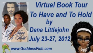 Goddess Fish Virtual Book Tour To Have and to Hold Banner