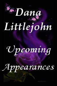 Dana Littlejohn Upcoming Appearances