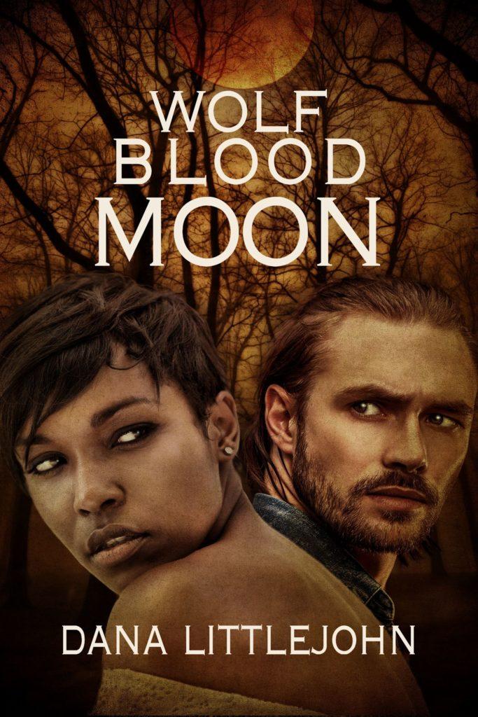 Wolf Blood Moon by Dana Littlejohn